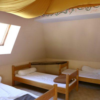 hébergement dortoir